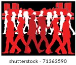 business people | Shutterstock .eps vector #71363590