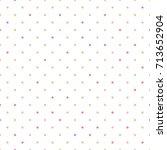 dots seamless pattern | Shutterstock .eps vector #713652904