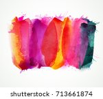 purple  lilac  magenta and pink ... | Shutterstock .eps vector #713661874