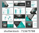 business presentation... | Shutterstock .eps vector #713675788