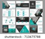 business presentation...   Shutterstock .eps vector #713675788