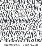 have a good day  stay positive  ...   Shutterstock .eps vector #713676760