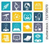 science icon set vector | Shutterstock .eps vector #713730070