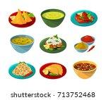 vector pictures of indian... | Shutterstock .eps vector #713752468