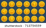 different coins of crypto...