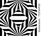 seamless pattern with black... | Shutterstock .eps vector #713764933