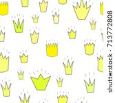 different yellow  golden crowns