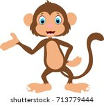 monkey | Shutterstock .eps vector #713779444