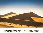 tourist people travellers... | Shutterstock . vector #713787700