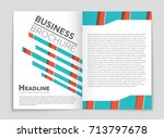 abstract vector layout... | Shutterstock .eps vector #713797678