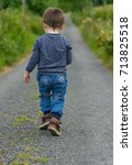 editorial use only  a small boy ... | Shutterstock . vector #713825518