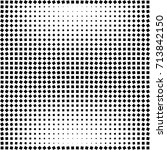 halftone square texture | Shutterstock .eps vector #713842150