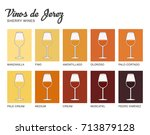 sherry wine range written in