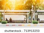 bangkok thailand  september 12... | Shutterstock . vector #713913253