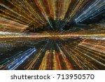 space design   lighting line... | Shutterstock . vector #713950570