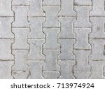 old paving slab texture | Shutterstock . vector #713974924