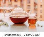 Jasmine Tea On The Table