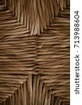 wicker texture and background.... | Shutterstock . vector #713988604