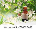 neroli  bitter orange  blossom... | Shutterstock . vector #714028489