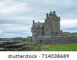wick  scotland   july 2017  the ... | Shutterstock . vector #714038689