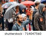 strasbourg  france   sept 12 ... | Shutterstock . vector #714047560