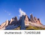 Dolomite Mountains  Italy ...