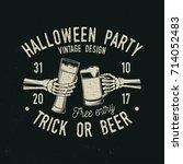 Halloween Party. Trick Or Beer...