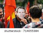 strasbourg  france   sept 12 ... | Shutterstock . vector #714055384