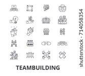 teambuilding  community ...   Shutterstock .eps vector #714058354