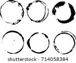 vector frames. circle for image.... | Shutterstock .eps vector #714058384