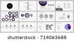 purple and black elements for... | Shutterstock .eps vector #714063688