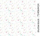 pattern flat tinsel vector | Shutterstock .eps vector #714064414