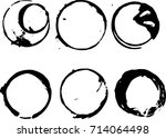 vector frames. circle for image.... | Shutterstock .eps vector #714064498