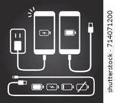 smart phone   iphone   mobile... | Shutterstock .eps vector #714071200
