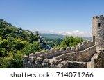 Castle Dos Mouros Battlements ...