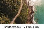 Aerial View Of Great Ocean Roa...