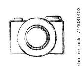 photographic camera icon | Shutterstock .eps vector #714081403