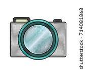 photographic camera icon | Shutterstock .eps vector #714081868