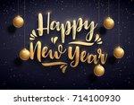 vector illustration of happy... | Shutterstock .eps vector #714100930