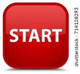 start isolated on special red... | Shutterstock . vector #714128293