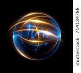 abstract background. elegant... | Shutterstock . vector #714134788