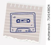 Music Tape Doodle