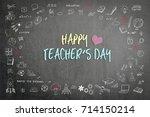 happy teacher's day calligraphy
