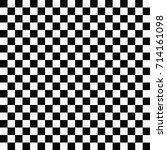 chess board seamless pattern.... | Shutterstock .eps vector #714161098