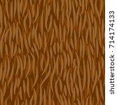 fell seamless pattern. animal... | Shutterstock .eps vector #714174133
