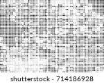 halftone black and white.... | Shutterstock .eps vector #714186928