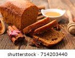 gingerbread cake | Shutterstock . vector #714203440