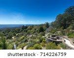 Stock photo  australia sydney blue mountain botanical garden 714226759