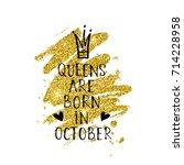 vector illustration  queens are ... | Shutterstock .eps vector #714228958