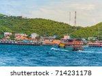 koh lan island  pattaya city ... | Shutterstock . vector #714231178